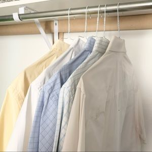 Bundle 5 men's size large dress shirts